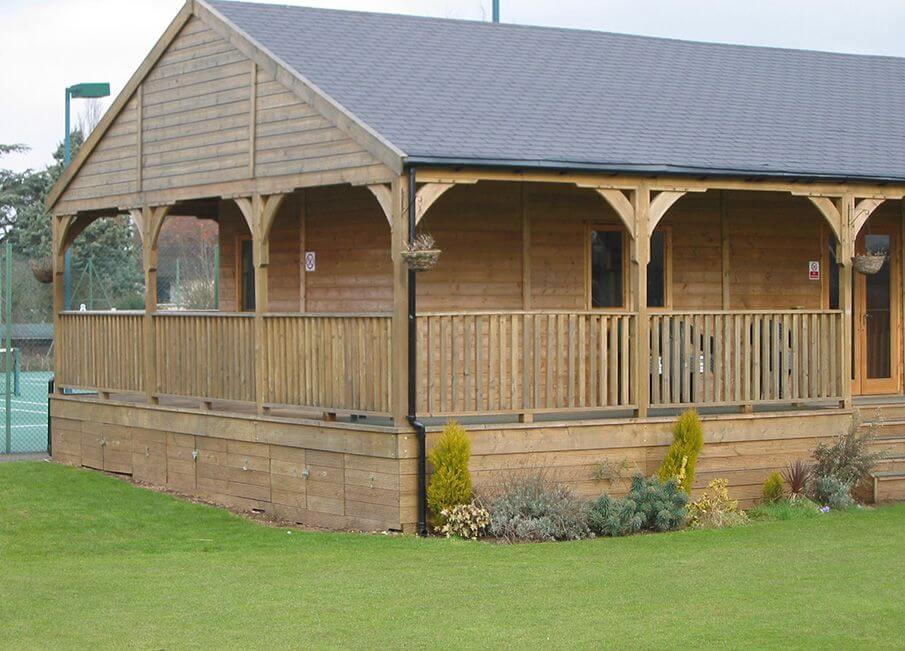 Timber Club Pavilion