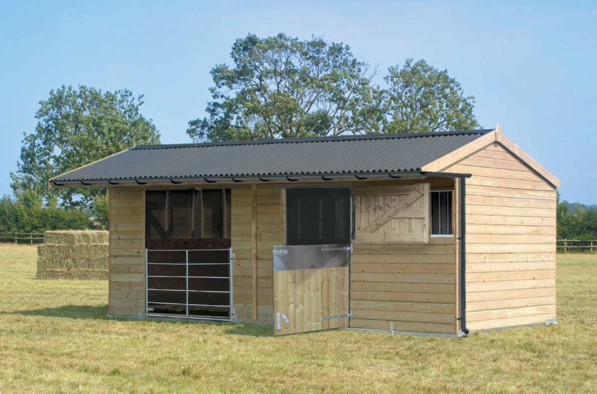 Timber Field Shelters for Horses