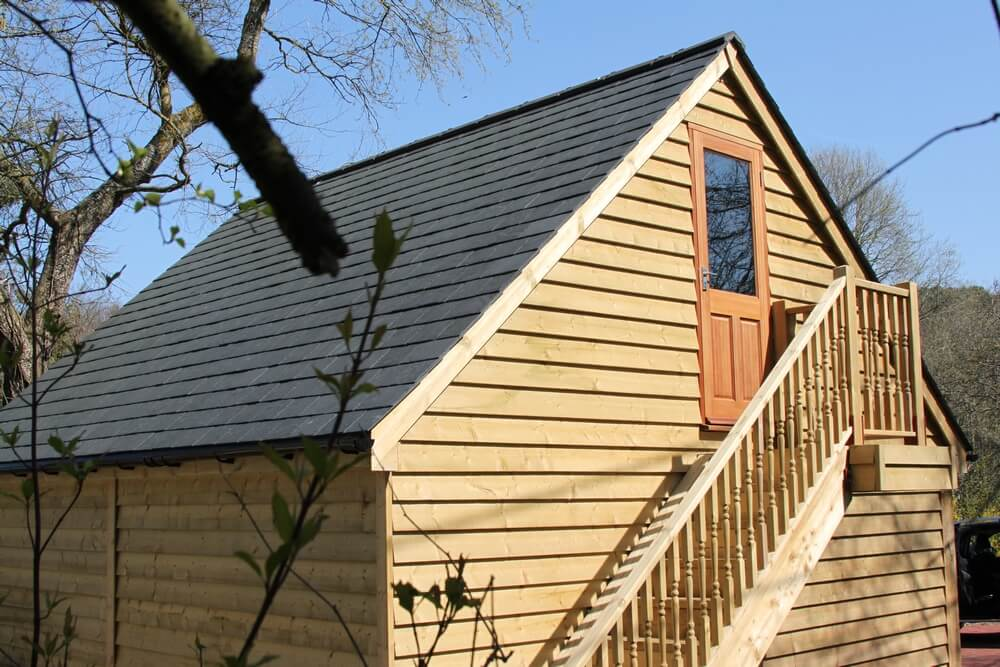 National Timber Buildings - carriage barn project