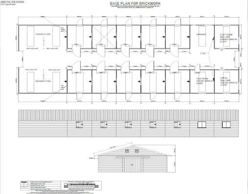 National Stables American Barn Plan for Castlerea Prison