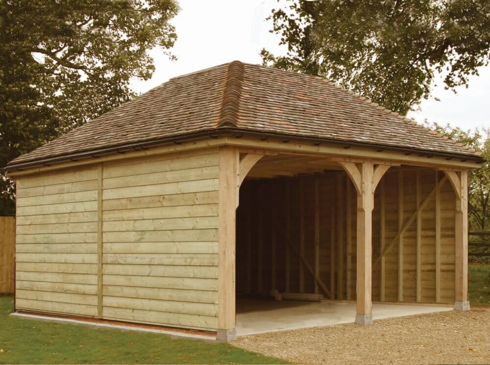 Multi-purpose timber carports