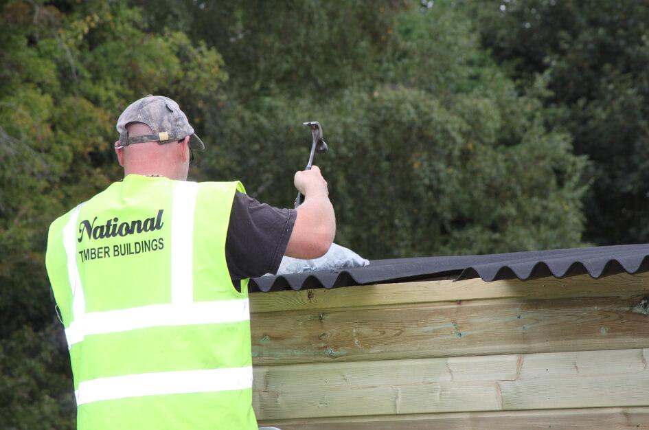 Field shelters in Bbuckinghamshire